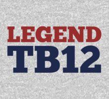 Legend TB12 One Piece - Short Sleeve