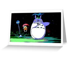 Totoro mix up! Greeting Card
