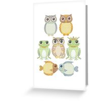 7 Friends Greeting Card