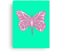 Butterfly Barbie Canvas Print