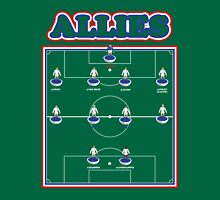 The Allies Team Line Up Unisex T-Shirt