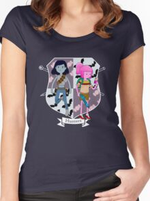 Hunters Women's Fitted Scoop T-Shirt