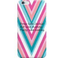 Classy at it's Finest iPhone Case/Skin