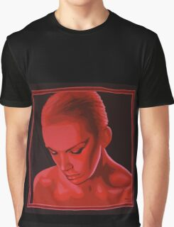 Annie Lennox painting Graphic T-Shirt