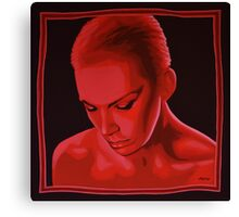 Annie Lennox painting Canvas Print