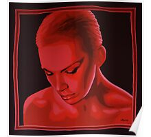 Annie Lennox painting Poster