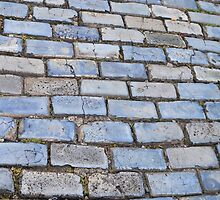 Blue Bricks of San Juan by Elizabeth Rodriguez