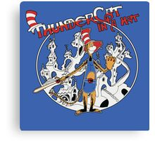 Thundercat in a Hat! Canvas Print