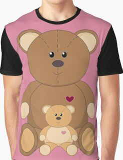TWO TEDDY BEARS #3 Graphic T-Shirt