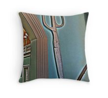Scissors Anyone? Throw Pillow