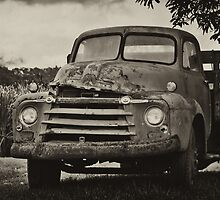 Old Truck by Donna Rondeau