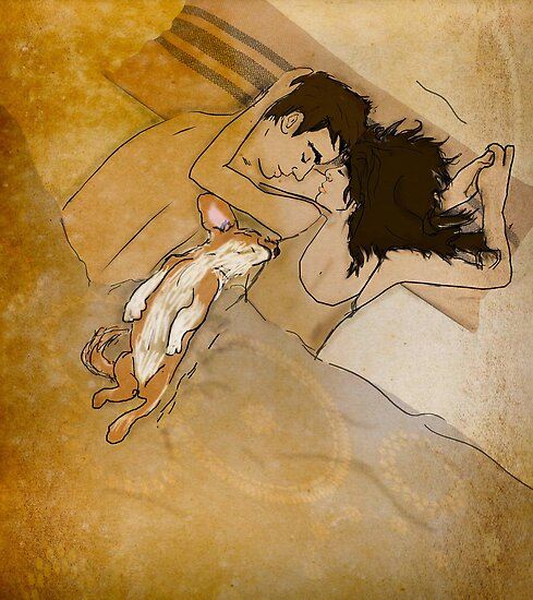 Sleepy Morning by Sophie Green
