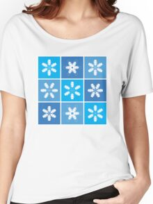 Winter Snowflake Lanterns Women's Relaxed Fit T-Shirt
