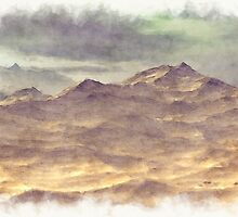Mountainous Landscape by Phil Perkins