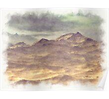 Mountainous Landscape Poster