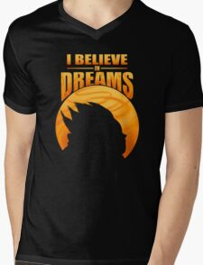 I Believe In Dreams Mens V-Neck T-Shirt