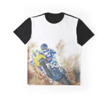 Illustrated Graphic Tee - KTM Adventure Motorcycle  Graphic T-Shirt
