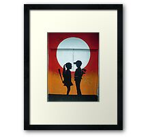 Not Quite Love Framed Print