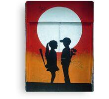 Not Quite Love Canvas Print
