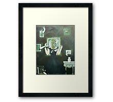 Reaching Through Framed Print