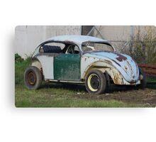 Old VW Beetle Canvas Print
