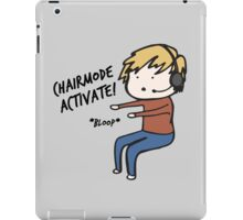 Chairmode Activate! - Tshirt iPad Case/Skin