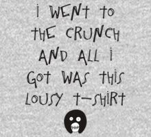 The Mighty Boosh – I Went to The Crunch and All I Got (Black) One Piece - Long Sleeve