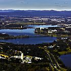 Canberra from Black Mountain Tower by Mossrocket