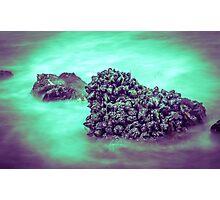 Barnacle Beach  Photographic Print