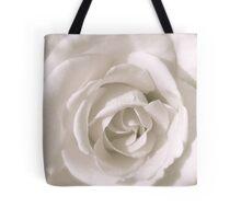 WHITE ROSE - THROW PILLOW Tote Bag