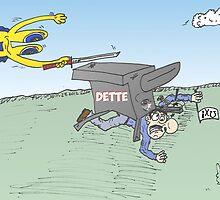 Euroman tente de réduire la dette grecque by Binary-Options