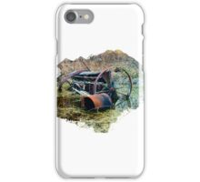 Rusty old farm equipment iPhone Case/Skin