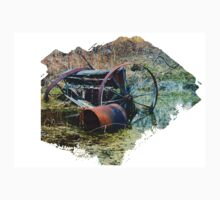 Rusty old farm equipment Kids Tee