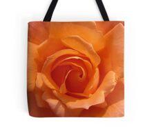 SEPTEMBER ROSE - ORANGE Tote Bag