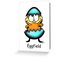 Egg Field Greeting Card