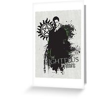 Dean Winchester Greeting Card