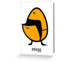 Smegg Greeting Card