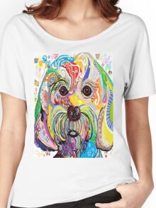 Maltese Puppy Women's Relaxed Fit T-Shirt