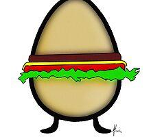 egg burger by Mariette (flowie) van den Heever