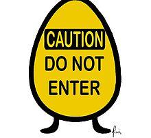 cautious egg by Mariette (flowie) van den Heever
