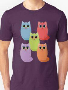 CAT FIVE POSE Unisex T-Shirt