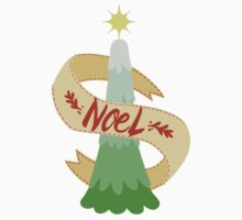 Noel Christmas Tree Kids Tee