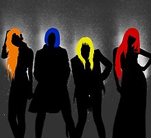 2NE1 Group by supalurve