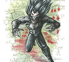 Morbius the Living Vampire by ARKgalleries