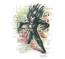 Morbius the Living Vampire Photographic Print