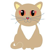 One and Only One Tan Kitty Photographic Print