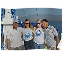 Rahman, Natalie, Julie and Defli on the Pa Siren Poster