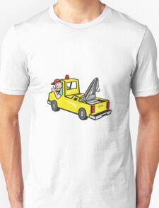 Tow Wrecker Truck Driver Thumbs Up  Unisex T-Shirt