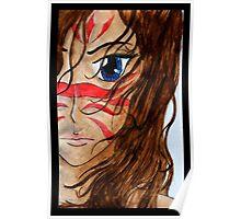 Warrior Girl Poster