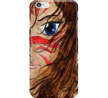 Warrior Girl iPhone Case/Skin